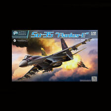 "1/48 Russian Sukhoi Su-35 "" Flanker-E "" Kitty Hawk 80142 Military Model Kit"