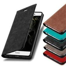 BOOK Style Cover CASE with invisible Magnet for HUAWEI Smartphones Flip Wallet