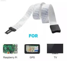 50cm Micro SD To Micro SD Card Extension Ribbon Flexible Cable Adapter GPS Phone