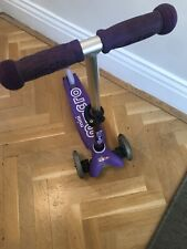 Micro Scooters PURPLE MINI DELUXE SCOOTER