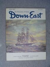 DOWN EAST Maine mag Aug 1967  Rockland's Clipper Ship Red Jacket  BAILEY I. TUNA