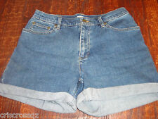 JONES Sport * Med Wash STRETCH DENIM Blue JEANS SHORTS * sz 6 8 * EUC * Worn 1x