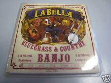 Orginal La Bella Banjo Saiten 5saitig Stainless USA