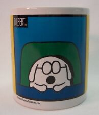 VINTAGE DILBERT DOG Let Me Drop Everything and Work on Your Problem MUG CUP