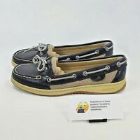 Sperry Top Sider Angelfish Casual Outdoor Boat Shoe Womens Size 8 9101916 Black