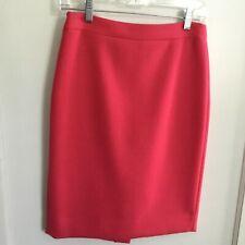 "J.Crew No 2 Pencil Skirt Size 2 100% Wool 23.5"" Long, Sits At Waist"