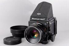 EXC+++ Mamiya RB67 Pro S, Sekor C 127mm, 120Filmback, Prism Finder fromJapan#n04