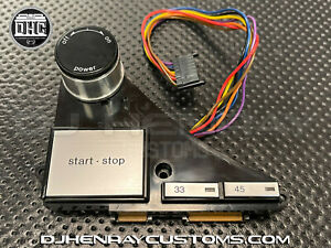 Technics OEM SL1200/1210 MK2 on/off start/stop assembly will also fit M3D's