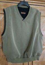 BYRON NELSON Men's Sz XL Eleven Straight Pullover Golf Vest Shirt Jacket Apparel