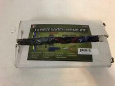 SE 16-Piece Watch Repair Tool Kit  Watch Repair, Battery Changes Band Links