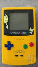 Pikachu Edition Game Boy Color  - Nintendo Handheld Console