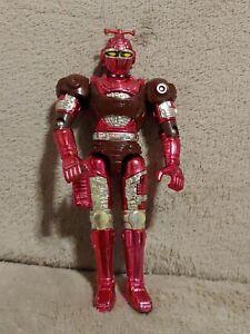"Bandai Beetleborgs Saban Red Striker 6"" Action Figure 1996"