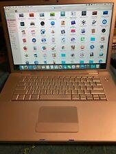 "New listing Apple MacBook Pro A1226 15.4"" Laptop - MA896LL/A (June, 2007)"