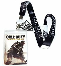 Call of Duty Advanced Warfare Sentinel Lanyard with ID Holder & Charm New