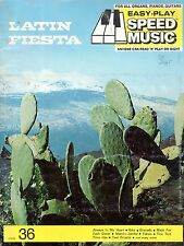 EZ-PLAY Letter-In-Note 18 LATIN FIESTA Songs Sheet Music Book