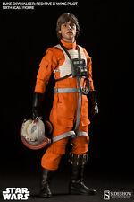 1/6 Star Wars Luke Skywalker Red Five X-wing Exclusive Sideshow JC