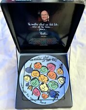 More details for phil collins - whatever it takes peace thru art collector plate (new & boxed)