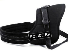 POLICE Service Dog Harness Vest Removable label Patches IN TRAINING THERAPY DOG