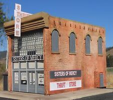 Downtown Deco O On3 On30 Scale Sisters of Mercy Building O Gauge Hydrocal