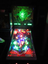 ESCAPE FROM THE LOST WORLD Arcade Pinball Machine Bally 1987 (Custom LED)