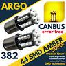 12v Coche 382 (343) Amber Flash Naranja Intermitente Bombillas Intermitentes