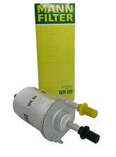 Original MANN Kraftstofffilter WK69 für Audi Seat Skoda VW