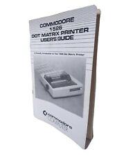 Commodore Computers 1526 Dot Matrix Printer User's Guide Manual Book 1984