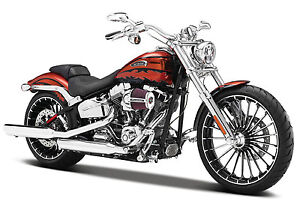 Maisto 1:12 32327 Harley Davidson 2014 CVO BREAKOUT MOTORCYCLE BIKE Model NEW