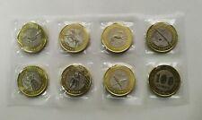 NEW 100 tenge 2020 JETI QAZYNA  - 7 coins + 1