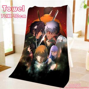 Gintama Anime Cosplay Oversize Bath beach body Towel Otaku 70X140cm#017