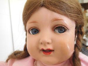 "Antique Kammer & Reinhardt 728 German 18"" Celluloid Head Flirty Eye Toddler"