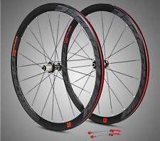 Road bike 700C aluminum alloy sealed bearing hub wheels wheelset 40mm rims