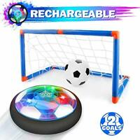 Growsland Kids Toys Hover Soccer Ball with Goal Set Gift Boys Girls Age