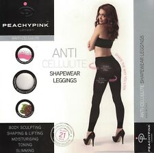 PEACHY PINK Luxury Womens Anti-Cellulite Shapewear Leggings