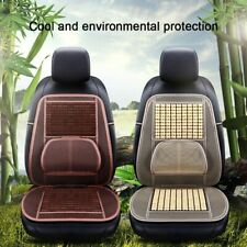 1Pcs New Massage Breathable Car Seat Cover Wooden Beaded Seat Cushion Office