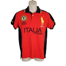New listing RALPH LAUREN Polo RL Racing Team Da Corsa Italy 2011 Size Large Italia