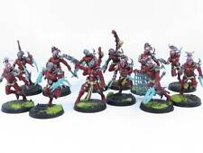 DRUKHARI WYCHES x 12 Painted Dark Eldar Wych Squad Warhammer 40K Army J5d