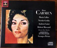 Bizet Carmen Orch. du Théâtre Nat de l'Opéra de Paris - G. Prêtre - Coffret EMI