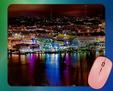 Pittsburgh Heinz Field at Night Colorful Mouse Pad