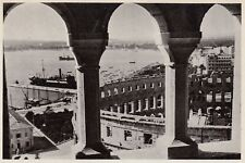 D5016 Croazia - Pola - L'Anfiteatro Romano - Stampa d'epoca - 1938 vintage print