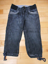 Under Bump Rise Capri, Cropped Maternity Jeans