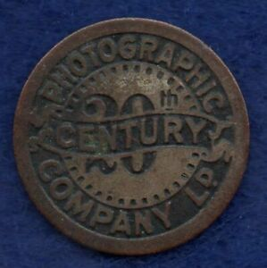 GB, Photographic Company Advertising Token, Early 20th Century (Ref. c8327)