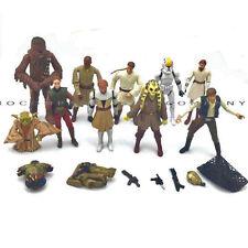 Rare 10pcs Star Wars Collection CHEWBACCA/Han Solo/Yoda/Obi-Wan Kenobi Figure