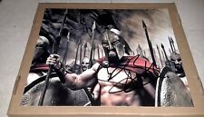 GERARD BUTLER KING LEONIDAS 300 AUTOGRAPHED SIGNED 11X14 PHOTO W/COA