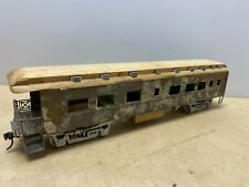 2 Rail O gauge Unbranded Unfinished Business Car from Kit