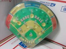 Vintage 2001 Schylling Baseball Play Ball Pinball Game - PREOWNED - WORKS FINE