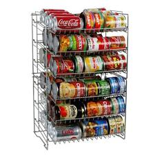 Food Can Rack Holder Kitchen Pantry Organizer Soup Beer Soda Coke Storage Shelf
