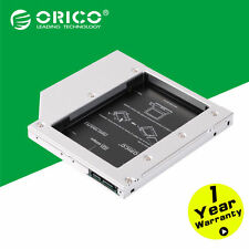 """ORICO Aluminum 2.5"""" Internal SSD HDD Hard Disk Caddy Tray Enclosure for Laptops"""
