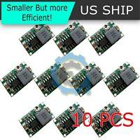 New 10PCS Mini360 3A DC Voltage Step Down Power Converter Buck Module 5V 9V 12V