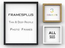 Sleek Picture Photo Poster frame Thin Deep Frames Black White Oak A1 A2 A3 A4